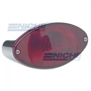 Mini Retro Cateye Taillight - Bulb Type 62-21620