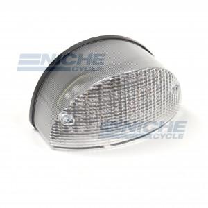 Kawasaki ZR750 LED Clear Taillight Brake Light w/Integrated Turn Signals 62-84759LT