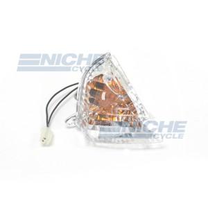 Suzuki Clear Rear Right Hand Turn Signal Light Lens 65-72645A