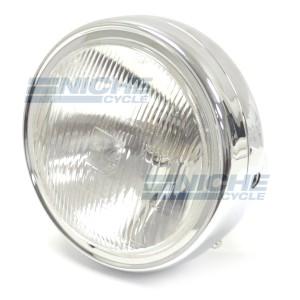"Honda Reproduction 7"" Headlight Chrome 66-64322C"