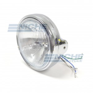 """Headlight Assembly 7"""" Complete- Chrome 66-65020"""
