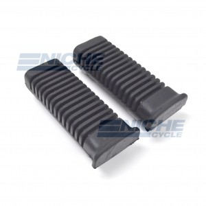 British Style Foot Rest Rubbers Pair 54-05461