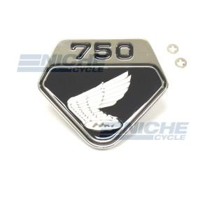 Honda CB750 Right Side Cover Wing Emblem 87123-300-020