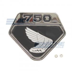 Honda CB750 Left Side Cover Wing Emblem 87124-300-020