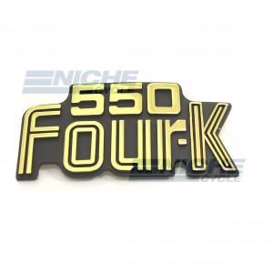 Honda CB550 Side Cover Emblem 87124-404-670
