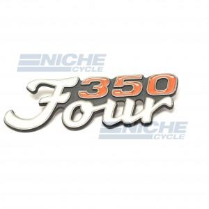 Honda CB350 Four Side Cover Emblem 87128-333-000