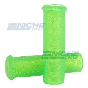 "Grip Set - Metal Flake 7/8""x120mm -  Green 42-21126"