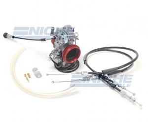 Honda XR650R Mikuni TM40 Carburetor Conversion Kit with Remote Choke NCS238