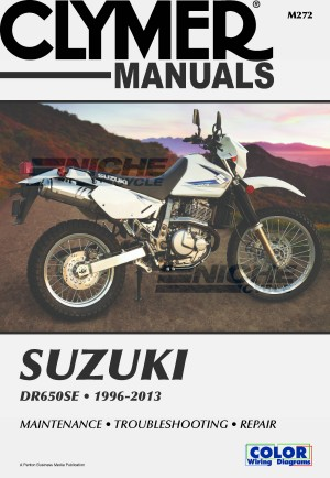 Clymer DR650 Manual 1996-2013 M272