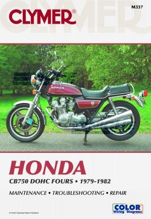Hon CB750 DOHC Fours 79-82 Tot M337