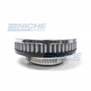 Pancake Filter Chrome 48mm RC-306
