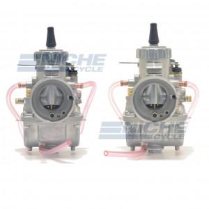 Mikuni VM32 Round Slide 32mm Carburetor - Right & Left Set VM32-LR
