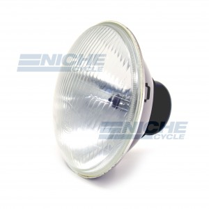"Light Unit 7"" w/H4 - Convex Lens 66-75806A"