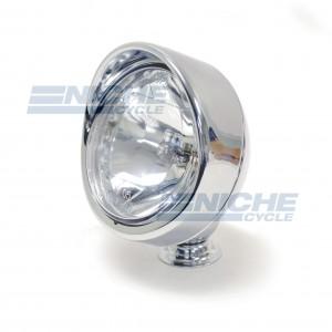 """Spotlight - 3.5"""" Hooded Rim Chrome 66-83642"""