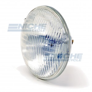 "Motorcycle Sealed Beam 75w/75w Headlamp Bulb - 7"" 66-75810T"