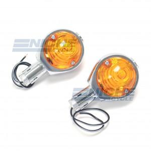 "BMW Style Bar End Deco Lights 7/8"" 60-14550"