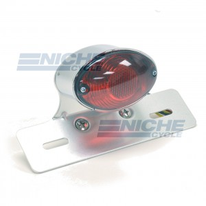 Single Medium Cateye Taillight 62-21604