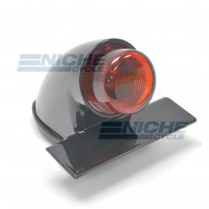 Sparto Classic Projected Taillight - Black 62-30393
