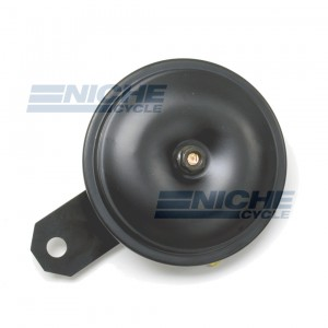 Horn- Black/Black 92mm 12 Volt 86-18022