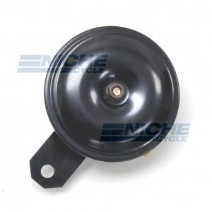 Horn- Black/Black 92mm 6 Volt 86-18016