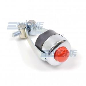 "Universal 7/8"" Handlebar Horn/Kill Red Button Switch 46-50500"