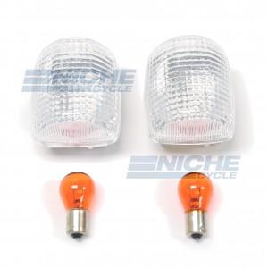 Honda Turn Signal Lense w/Bulbs 59-21312