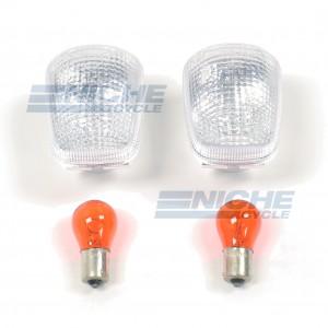 Yamaha/Suzuki Clear Signal Lens w/Bulbs 59-21442