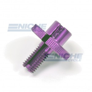 GSXR Clutch Cable Adjuster - Purple 34-67076