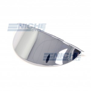 "Spotlight Visor 4.5"" Chrome 66-10725"