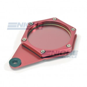 Tax Disc/License Holder Hex Red 86-28834
