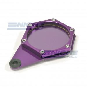 Tax Disc/License Holder Hex Purple 86-28836