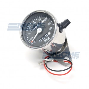 Mini Speedometer Gauge 160 MPH - 2.1:1 Ratio 58-43664