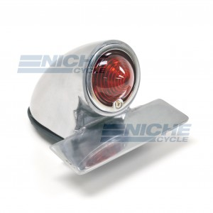 Sparto Classic Style Taillight - Polished 62-30361