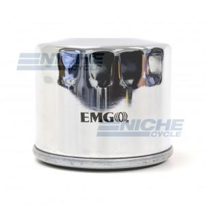 Oil Filter - Spin On - Chrome 10-07800