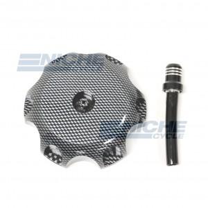 Suzuki RM Billet Aluminum Gas Cap 43-73463