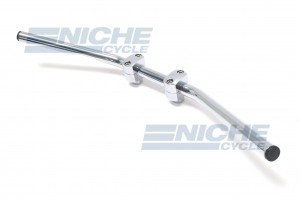 "Handlebar - 1"" Drag 82 Up Chrome-Dimp 07-92420"