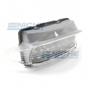 Honda CBR600 F3 Clear LED Taillight Assembly 62-84748L