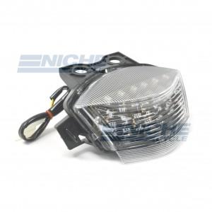 Kawasaki EX650R Clear LED Taillight Assembly 62-84754L