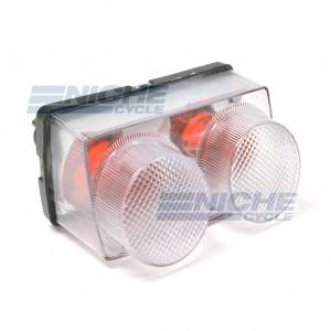 Yamaha YZF-R1 98-99 Clear Taillight Lens 62-84771