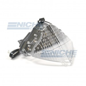 Yamaha R1 LED Clear Taillight Assembly 62-84778L