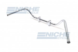 "Handlebar - 1"" WideBar Chrome-Dimp 07-12528"