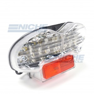 Suzuki GSF 600/1200 Bandit Clear LED Taillight Assembly 62-84765L