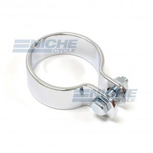 "1.625"" Chrome Muffler Center Clamp 80-62341"