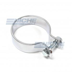 "2"" Chrome Muffler Center Clamp 80-62344"