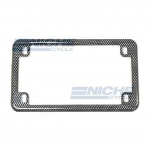 License Plate Frame - Carbon 86-42605