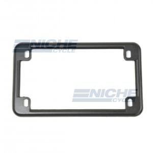 License Plate Frame - Matte Black 86-42610
