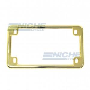 License Plate Frame - Gold 86-42615