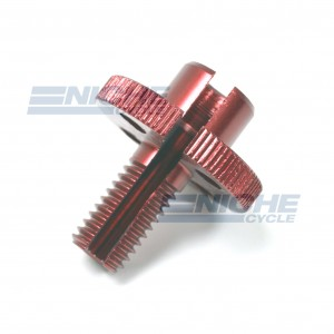 GSXR Clutch Cable Adjuster - Red 34-67074