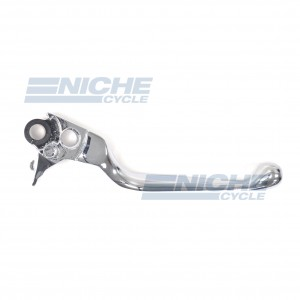 Chrome Wide Blade Brake Lever - Harley Davidson 45016-96 07-89041