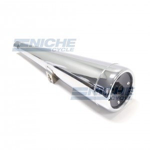 MUFFLER-Honda CX500 Replica Left 80-84072